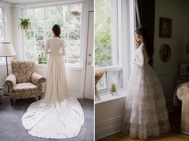 Timelessly Elegant Wedding Dresses Collection From Citizen Vintage Bridal