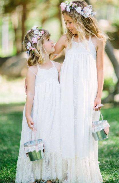 Incredible Boho Flower Girl Dresses