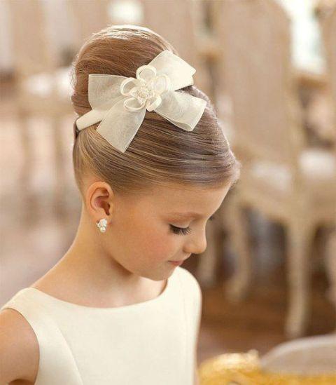 Flower Girl Hairstyles 15 gorgeous flower girl hairstyles brit co Super Cute Flower Girl Hairstyle Ideas To Make