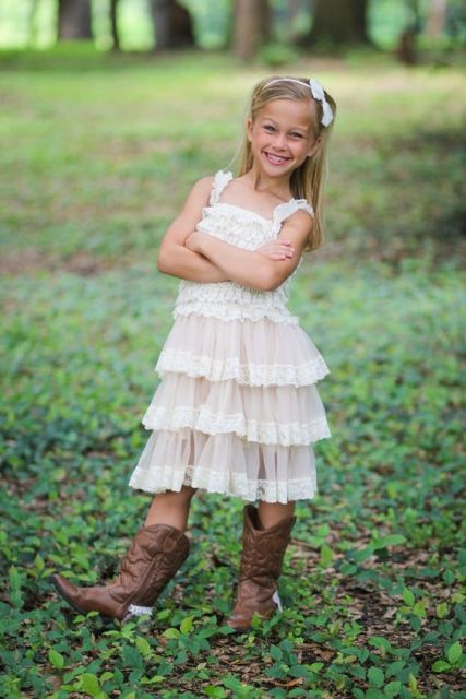 22 Flower Girl Outfits For Country Weddings Crazyforus