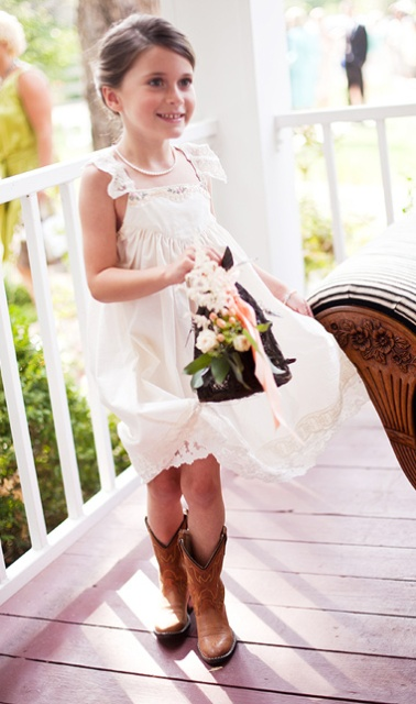 Picture Of Flower Girl Outfits For Country Weddings 14