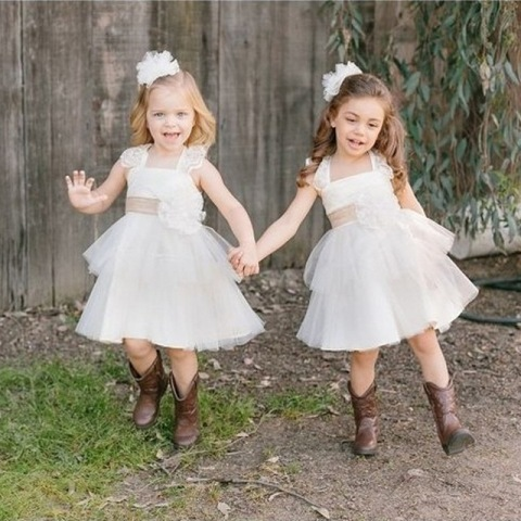 Picture Of Flower Girl Outfits For Country Weddings 15