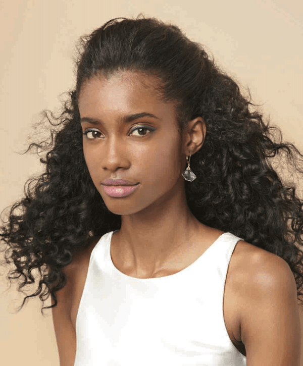 how to get the curly look with natural hair