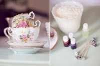 DIY Vintage Teacup Candles For A Bridal Shower2
