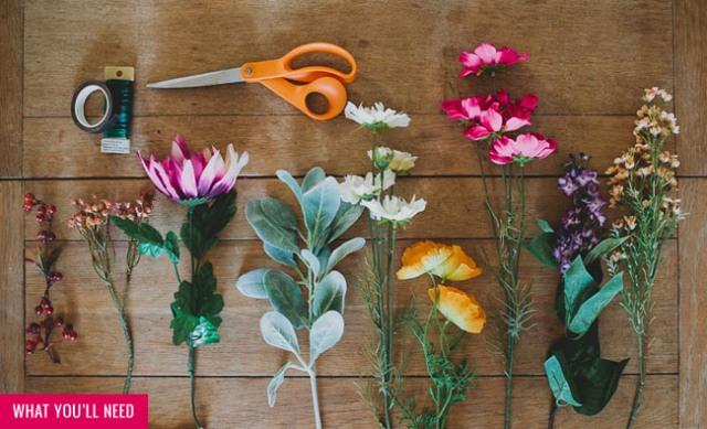 Picture Of Eye Catching DIY Silk Flower Crown 2