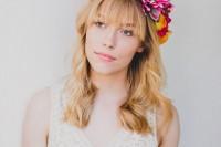 Eye-Catching DIY Silk Flower Crown 9
