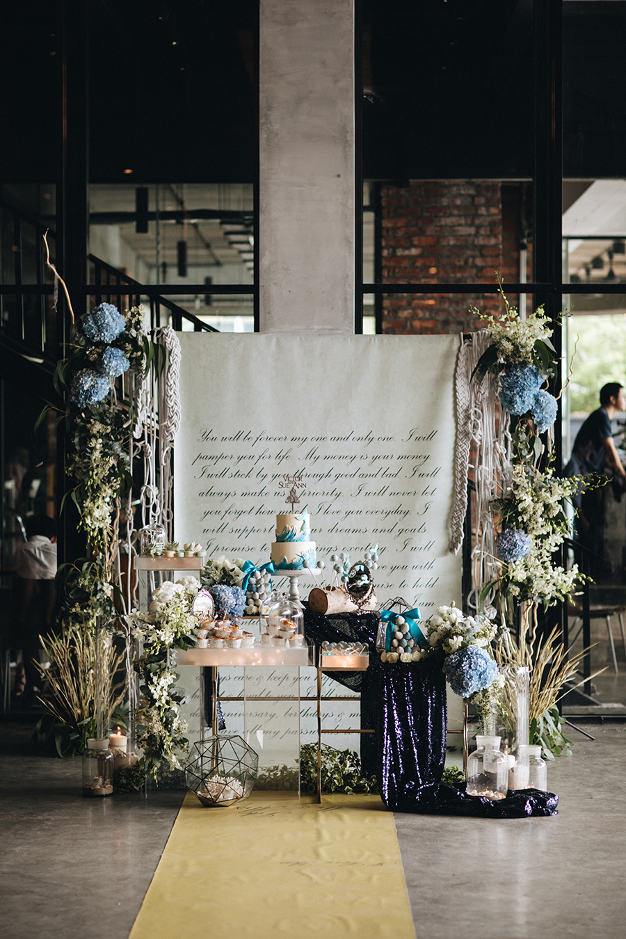 little mermaid wedding decor