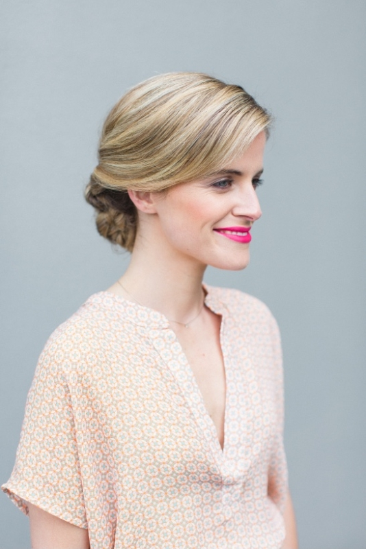 Classic And Elegant DIY Bridal Fishtail Updo To Make Weddingomania - Classic elegant hairstyle
