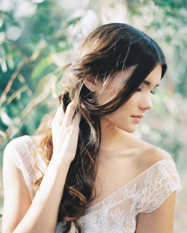 Ethereal And Romantic Woodland Bridal Shoot