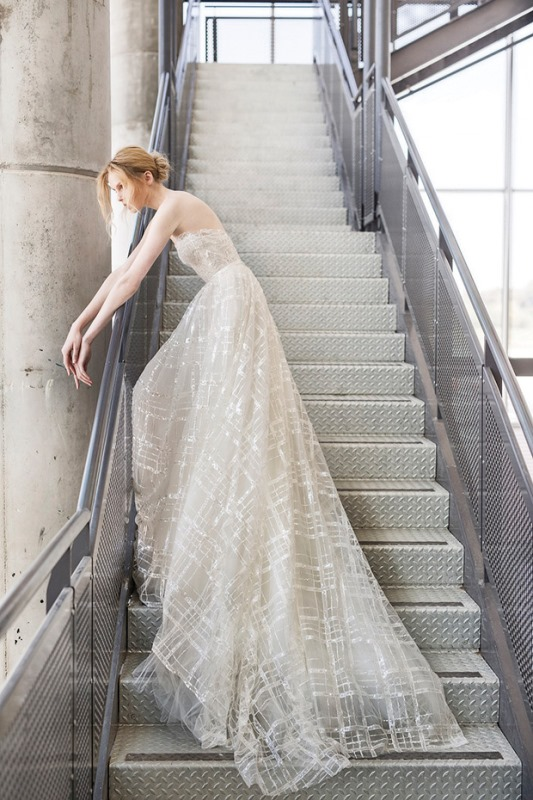 Ethereal the stardust collection of bridal dresses by mira for Ethereal wedding dress