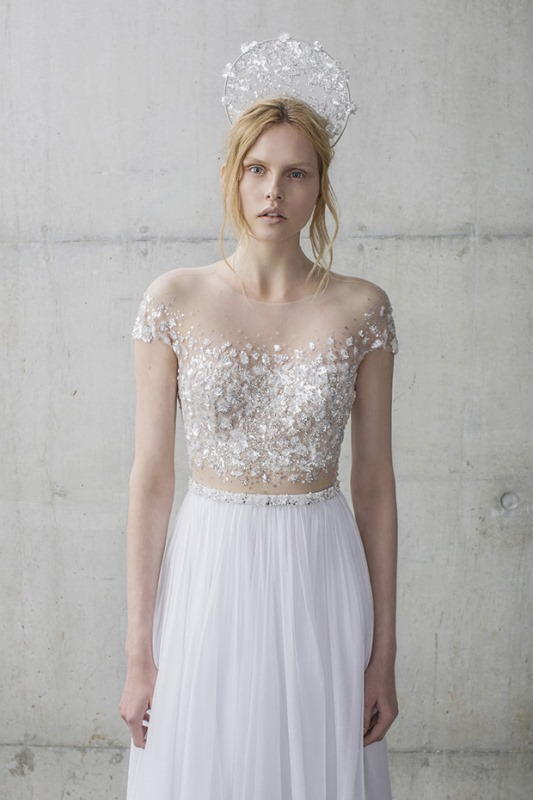 Picture Of ethereal the stardust collection of bridal dresses by mira zwillinger  11