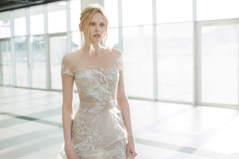 Picture Of ethereal the stardust collection of bridal dresses by mira zwillinger  13