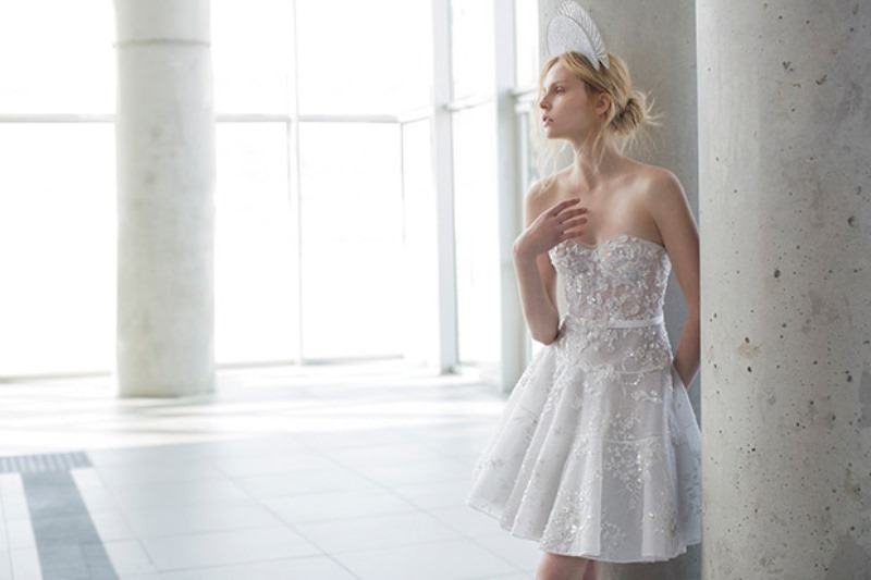 Picture Of ethereal the stardust collection of bridal dresses by mira zwillinger  16