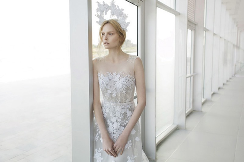 Picture Of ethereal the stardust collection of bridal dresses by mira zwillinger  2