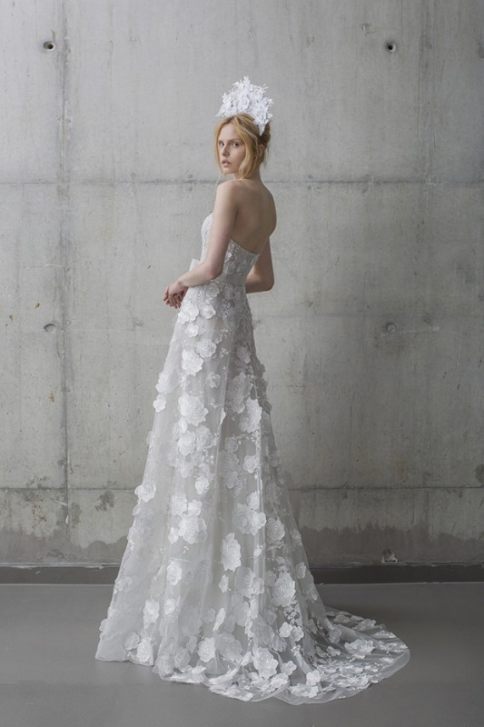 Picture Of ethereal the stardust collection of bridal dresses by mira zwillinger  3