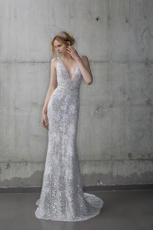 Picture Of ethereal the stardust collection of bridal dresses by mira zwillinger  4