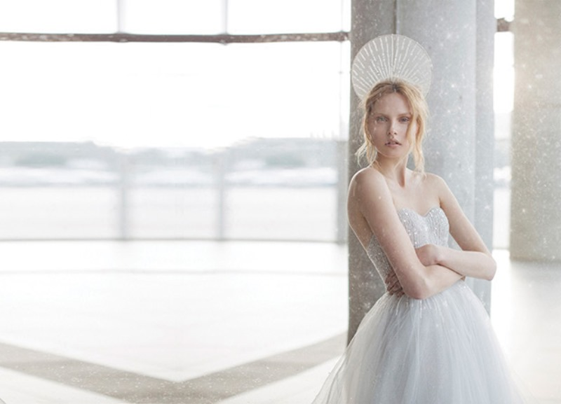 Picture Of ethereal the stardust collection of bridal dresses by mira zwillinger  5
