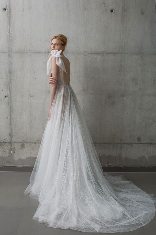 Picture Of ethereal the stardust collection of bridal dresses by mira zwillinger  6