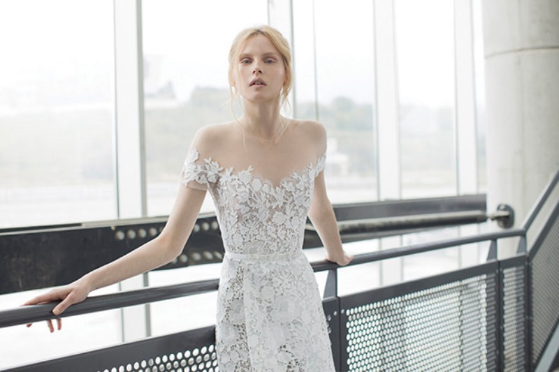 Picture Of ethereal the stardust collection of bridal dresses by mira zwillinger  8