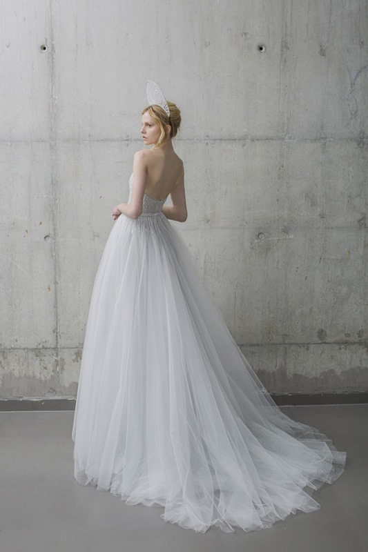 Picture Of ethereal the stardust collection of bridal dresses by mira zwillinger  9