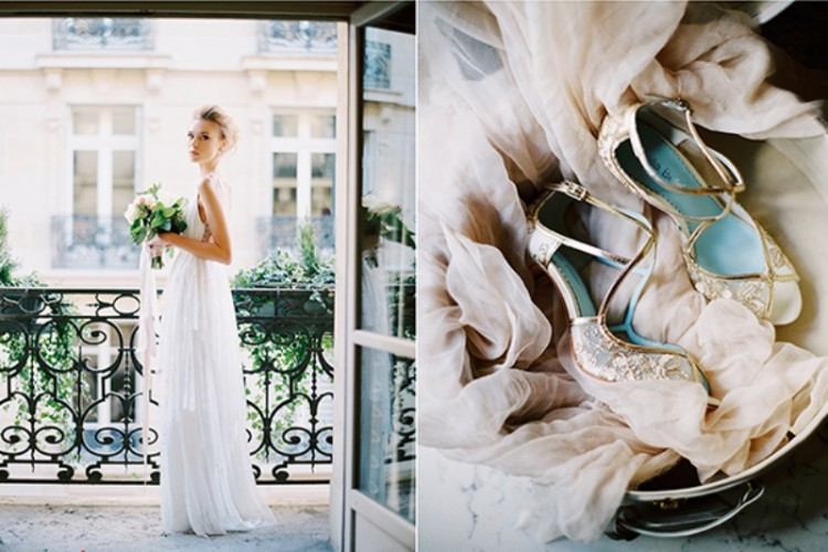 Gorgeous Paris Elopement Shoot At Rodin's Museum