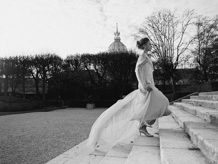 Gorgeous Paris Elopement Shoot At Rodin's Museum