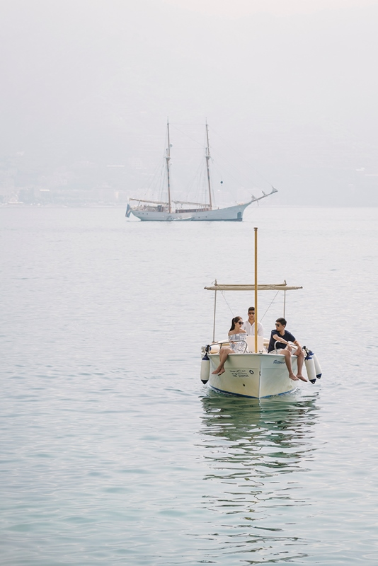 Intimate Coastal Engagement Session In Positano, Italy