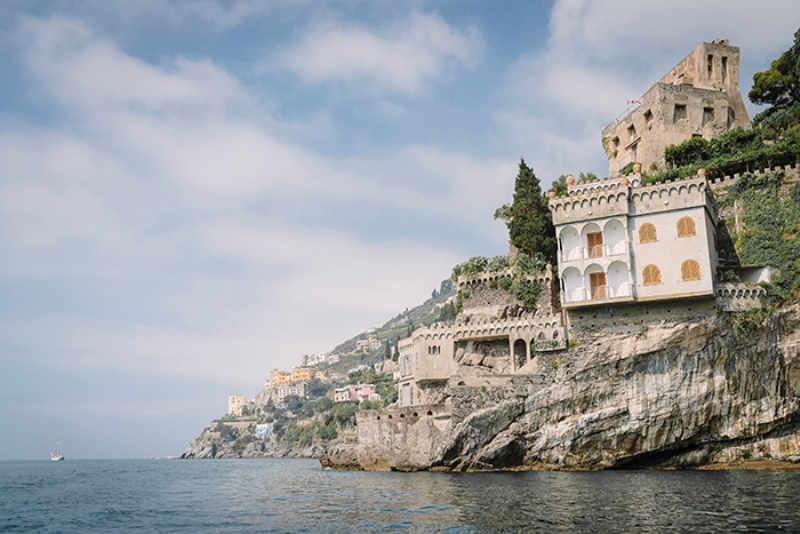 Picture Of intimate coastal engagement session in positano italy  14