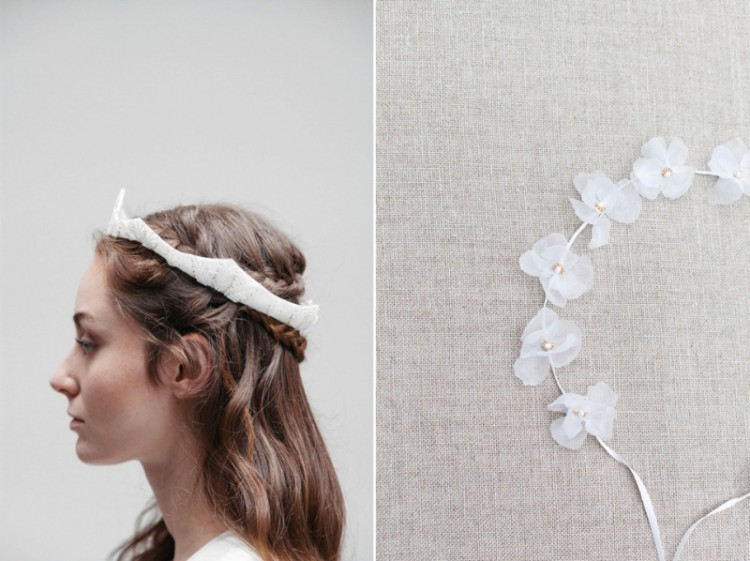 'Meadowsweet' Bridal Accessories Collection From Blackbird's Pearl