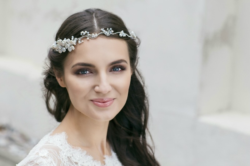 Picture Of organic inspired delicate bridal accessories collection from jurgita bridal  2