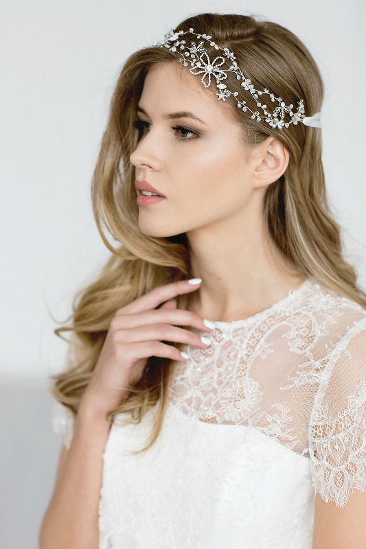 Organic Inspired Delicate Bridal Accessories Collection From Jurgita Bridal