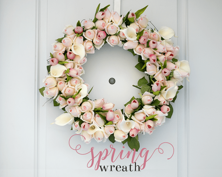 15 Refreshing And Charming DIY Spring Wedding Wreaths
