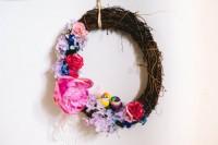 Simple DIY Spring Wreath For Wedding Decor