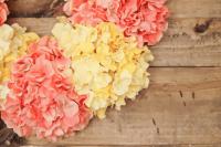 DIY Spring Hydrangea Wreath
