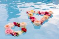 DIY Geometric Flower Floating Wreath
