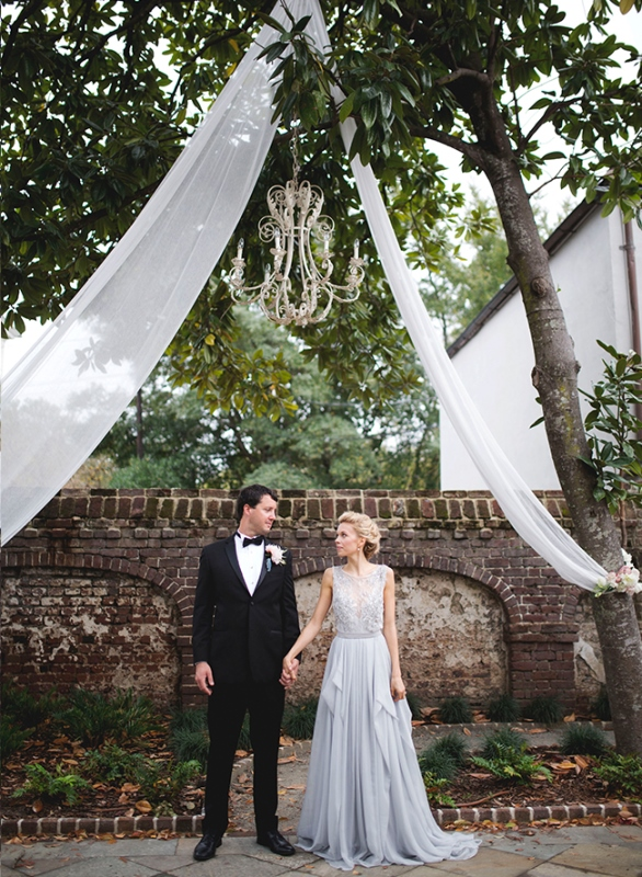 Romantic Serenity Southern Wedding Inspiration