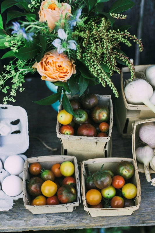 Rustic Organic Farm To Table Wedding Inspiration