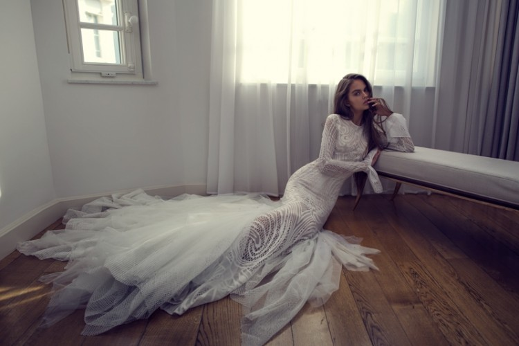 Sexy Mix And Match Bridal Dress 2016 Collection From Famous Zahavit Tshuba