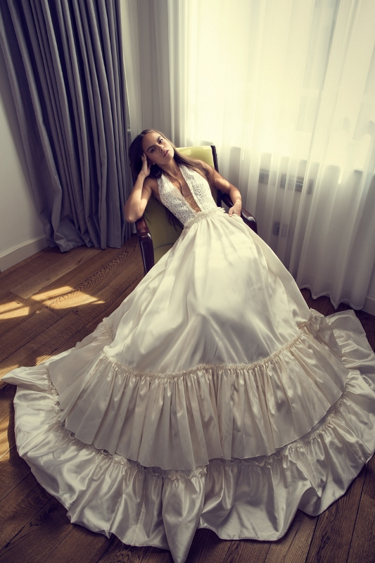 Sexy Mix And Match Bridal Dress 2016 Collection From Famous Zahavit Tshuba