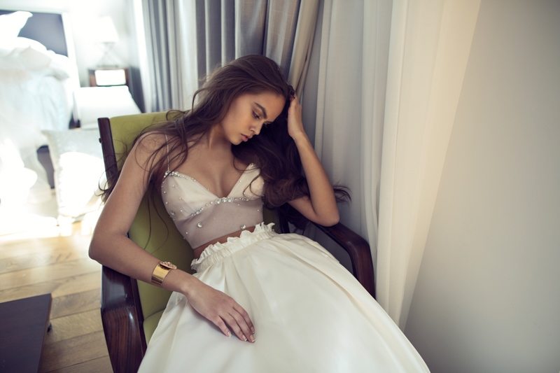 Picture Of sexy mix and match bridal dress 2016 collection from famous zahavit tshuba  11