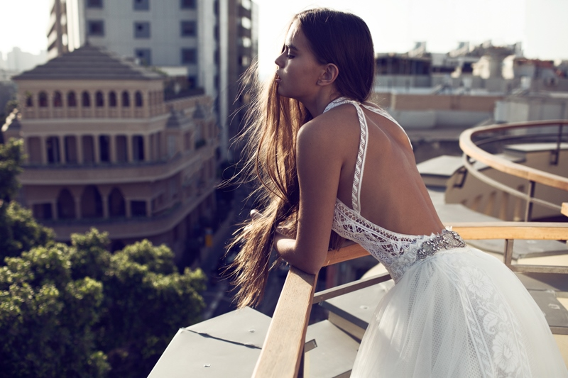 Picture Of sexy mix and match bridal dress 2016 collection from famous zahavit tshuba  7