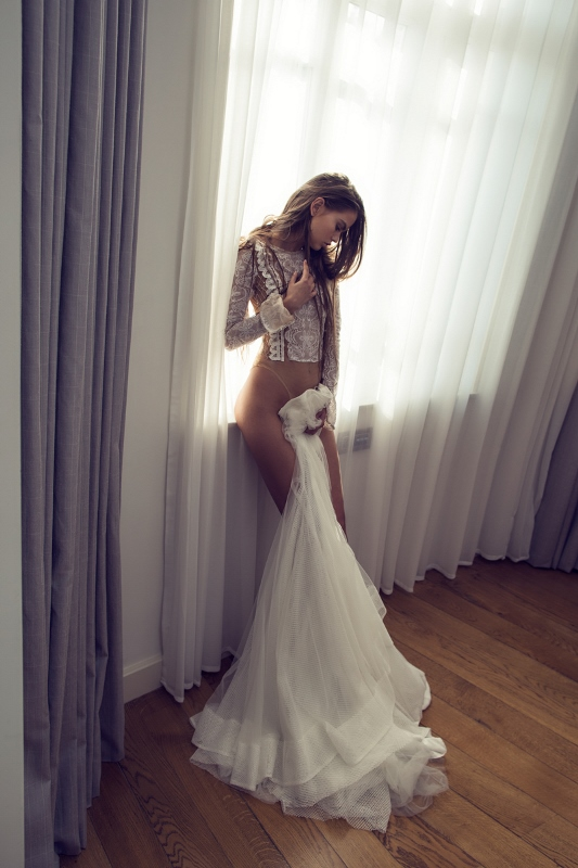 Picture Of sexy mix and match bridal dress 2016 collection from famous zahavit tshuba  8