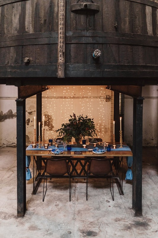 Picture Of stylish industrial and rustic inspired wedding ideas  12