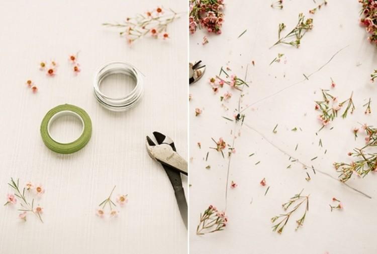 Sweet DIY Floral Letter For Spring Wedding Decor