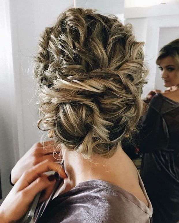 Wedding Styles: 45 Charming Bride's Wedding Hairstyles For Naturally Curly