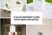 13-glam-and-modern-wedding-cakes-decorated-with-rocks-and-gems