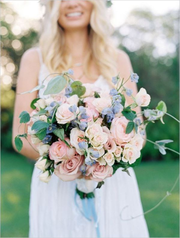 Charming And Trendy Serenity Wedding Bouquets