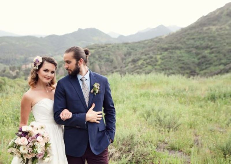 Picture Of stylish grooms who know how to rock a man bun  9