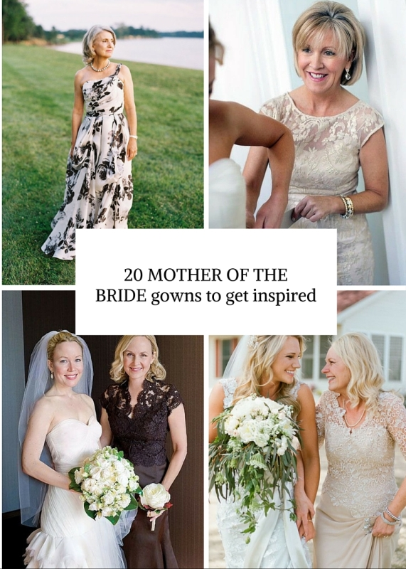20 Gorgeous Mother-Of-The-Bride Gowns