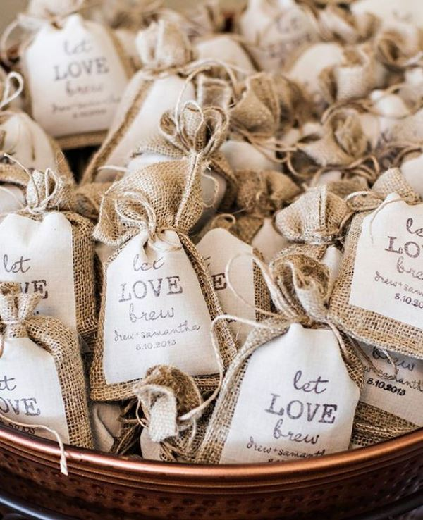 Ideas For A Fun Wedding: 22 Awesome Coffee Themed Wedding Ideas